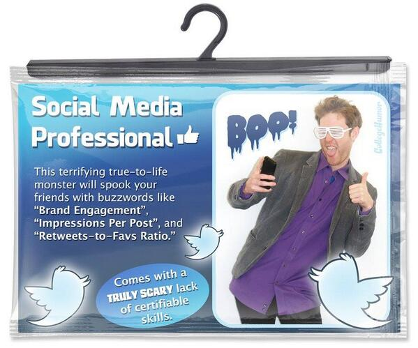 Costume for Social Media Professional